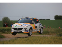 Sista rallyt i Junior-EM: Marijan Griebel ska försöka säkra andraplatsen i mästerskapet.