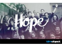 Jump for Hope –BIMobjects välgörenhetsprojekt