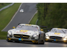24H Rowe team battle for third place
