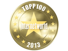 Internetworld Topp 100 - 2013