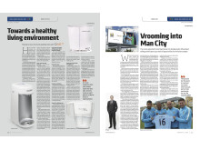 QNET's Home Care Products and Partnership with Manchester City in UAE's Khaleej Times