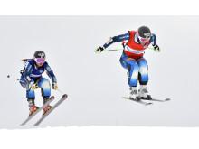 Skicross på Idre Fjäll