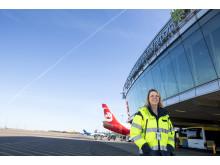 Maria Gelin, miljöchef Göteborg Landvetter Airport