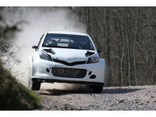Toyota Yaris WRC - test