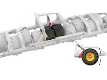 Spirit har utrustats med en hydraulisk mittvagga