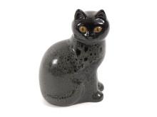 Dekorativa auktionen, 17/2, nr 37, Figurin föreställande katt, Lisa Larson.