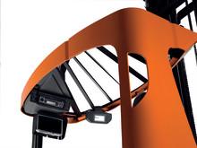 BT Reflex skjutstativtruck - solfjäderformat tak