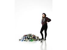 2011 års pantskörd: 154 burkar och flaskor per person