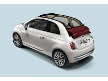 Hatten av - förhandspremiär för Fiat 500C i Genève