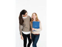 Studiecoach och elev
