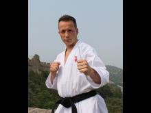 Karate utøver Steffen Larsen fra Stavanger Karate klunn