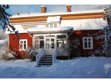 Astrid Lindgrens barndomshem i vinterskrud
