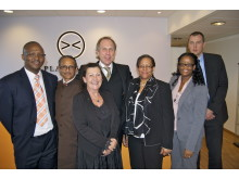 Visit to Plantagon Stockholm, October 3rd 2011, by Ms. Bernadette Rathedi, the Ambassador Extraordinary and Plenipotentiary of the Republic of Botswana to Sweden.