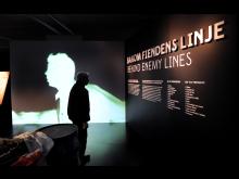 Bakom fiendens linje, ur utställningen Överlev