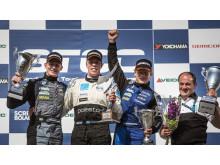 Victory for Volvo Polestar Racing in 2013 STCC premiere