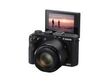 Canon PowerShot G3 X skärm