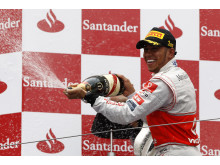 Winner Lewis Hamilton, German GP 2011