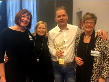Borås vinnare av Access City Award 2015