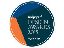 Wallpaper* Design Award 2015 Winner