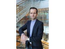 Daniel Hind, markedssjef i Shell