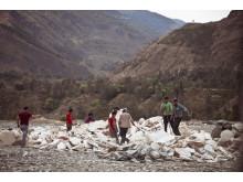 Klimatrapporten: Arbetare utan skyddsutrustning