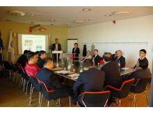 UMEVAS samarbete med Xi'an, Kina
