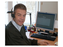 Charlie Leijonmarck, ekonomichef på serveOffice, använder både SWINX ScanLev och SWINX Tid dagligen