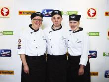 Lagbild Skärm Team Värnamos Gastrokockar Apladalsskolan Värnamo