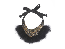 Khoon Hooi Fur Necklace