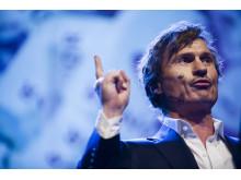 Petter Stordalen talare på CSR-galan Visa vägen 2012