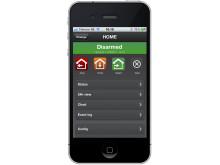 Styr hemmet, företag och sommarstugan direkt från din iPhone