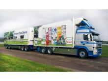Flytande fordonsgas i Skånemejeriers nya lastbilar