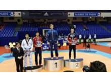 Johan Asp vinner sølv