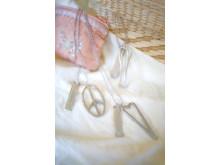 Halssmycken Tro, hopp & kärlek med symboler och starka budskap