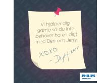 Philips Sonicare tipsar om hälsosamma kyssar – lanserar Dejtfixarn på Tinder