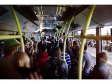 ElectriCity uppmärksammar elbusslinje genom överraskningskonsert med Seinabo Sey
