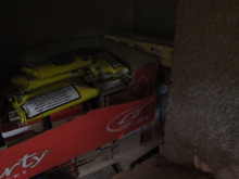 Op Batmobile - illicit tobacco products hidden in wall in Stoke NW04/15