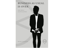 "Ny bok av Hans Hassle: ""Business as usual is over. Den röda kapitalisten"" (framsida)"