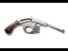 Hamiltonpistolen i Moderna vapen utställningen