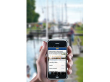 Göta kanalappen finns nu  även på engelska och tyska