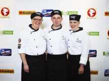 Lagbild Team Värnamos Gastrokockar Apladalsskolan Värnamo