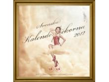 Svenska Kalenderflickorna 2012, omslag