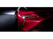På den internationella bilsalongen i Detroit den 11–24 januari 2016 är det världspremiär för Lexus alltigenom nya premiumkupé LC 500