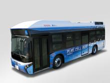 Toyotas och Hinos bränslecellsbuss