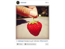 Exempelbild Instagramansökan