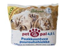 Suomalainen paakkuuntuva Petpal puurohehiekka kissoille