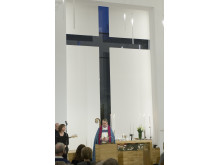 Biskopen inviger Amhults kyrka
