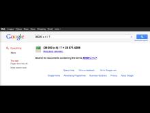 Regnemaskine i browseren