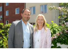 Carin Steen Wahlqvist & Jörgen Wahlqvist driver Hotell Conrad & Hotell Aston i Karlskrona
