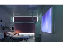 Denmark's first delivery room of the future with lighting, sound and images will enhance the experience of giving birth.